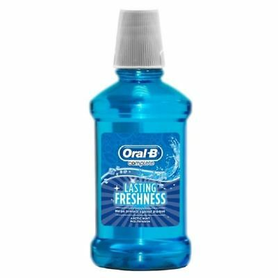 Oral B Complete Lasting Freshness Arctic Mint Mouthwash - 250ml 1 2 3 6 12 Packs