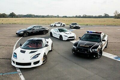 50% Off - Five Supercar Collection Blast - Gift Voucher Present Track Day Drive
