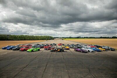 50% Off - Four Supercar Collection Thrill - Gift Voucher Present Track Day Drive