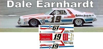 CD_2448 #19 Dale Earnhardt  1976 Chevy   1:24 Scale Decals