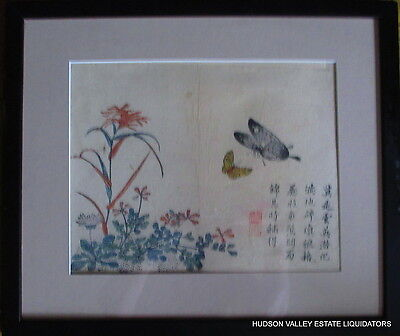 Japanese Antique Mixed Media Artist Signed 19Th - Early 20Th Century
