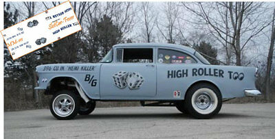 CD_MM-111 High Roller Too    1955 Chevy   1:32 Scale Decals   ~NEW~