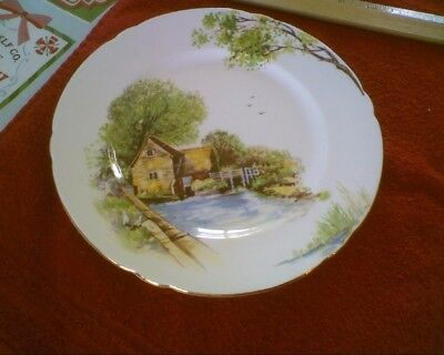 Shelley Vintage Old Mill #13669 Salad Plate