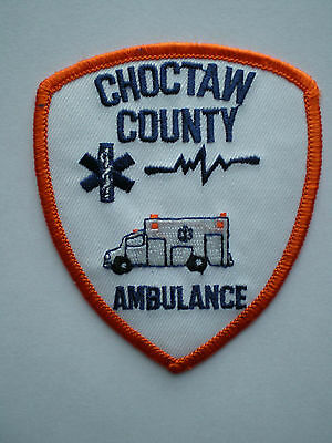 MS Mississippi Choctaw County Indian Tribe EMS Tribal Police Ambulance patch