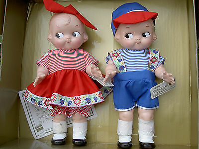 PAIR Horsman Campbell Kids dolls Commemorative 1997 LimitedEd. MIB w/certificate
