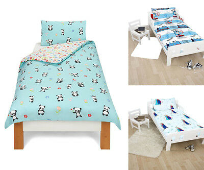 Toddler Baby Cot Anti-Allergic Quilt Duvet Pillow 4.5, 7.5, 9.0 Tog Sizes