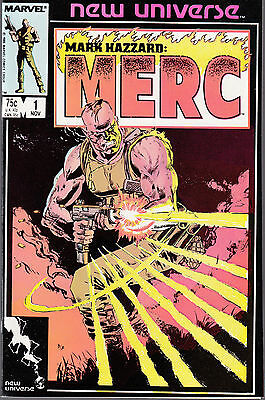 Mark Hazzard: Merc #1 1986 Marvel -Jim Shooter- Nm-