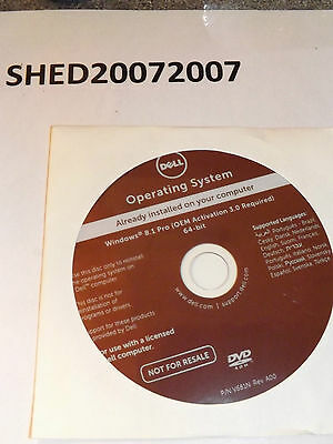 Dell Windows 8 Pro 64 Bit Dvd New And Sealed