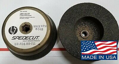 D650-2 Bay State 4x1-1//2x1-1//4 9A46 Cup Grinding Wheel