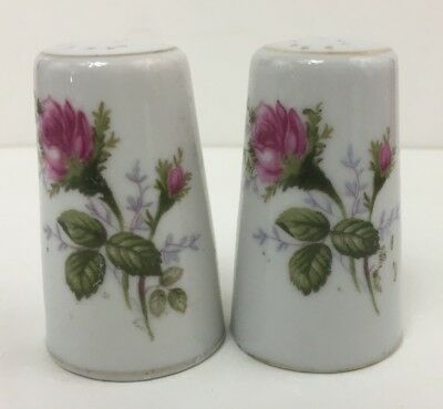 Rosemarie Japan - Salt & Pepper Shakers - Royal Rose Design