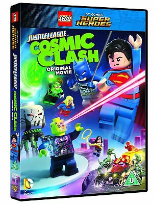 Lego Justice League - Cosmic Clash [DVD] [2016] New Sealed UK Region 2