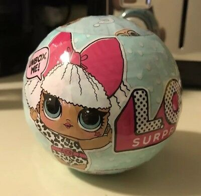 LOL LIL Outrageous Littles Doll Surprise Collectible Series 1 Ball L.O.L