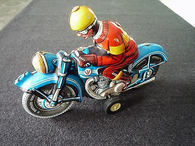 Blechspielzeug * Motorrad * Made in West Germany