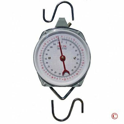 Hanging Dial Scale Outdoor Weight Hunting Butcher Fishing Analog
