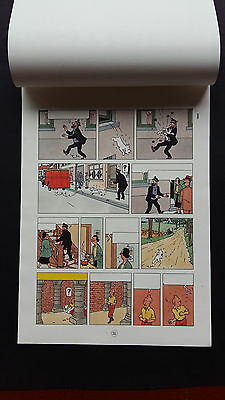 Tintin Kuifje Tim Secret Licorne Page 36 Gamme couleur complet Superbe vers 1960