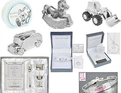 Christening Gifts, Baby Gifts, Silver Plated Money Boxes