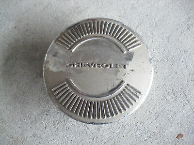 """Vintage 1950s Chevy Car or Truck Horn Button Cover 3 5/8"""" Wide"""