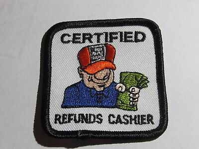 home depot collectibles home certified refunds cashier patch