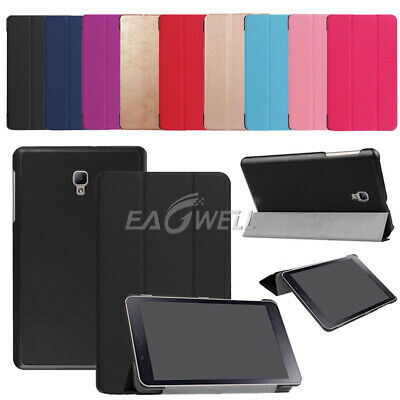 For Samsung Galaxy Tab A 8.0 SM-T380 T385 2017 Slim Leather Smart Cover Case WQ