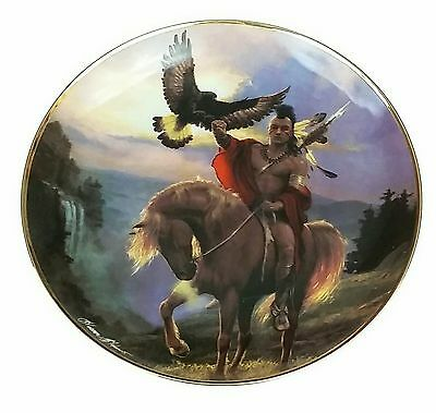 WESTERN HERITAGE MUSEUM PLATE SPIRIT OF THE EAST WIND Plate No. F 9809