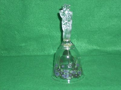 Avon 1992 24% Full Lead Crystal Bell