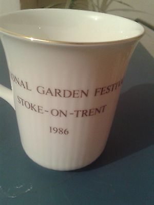 National Garden Festival Stoke-on-Trent 1986 Cup Royal Albert.