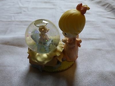 Precious Moments 1998 Little Girl Waterball Angel Jack In The Box Inside