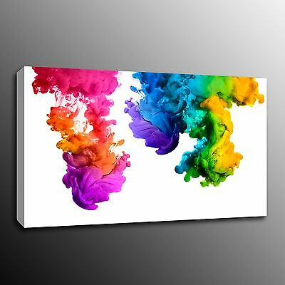 Abstract Colour Pattern Canvas Prints Wall Art Home Office Decor Painting Poster