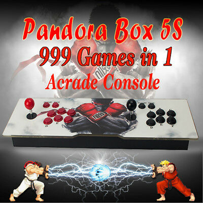 999 in 1 Games Pandora's Box 5S Video Game Double Stick Arcade Console LED Light