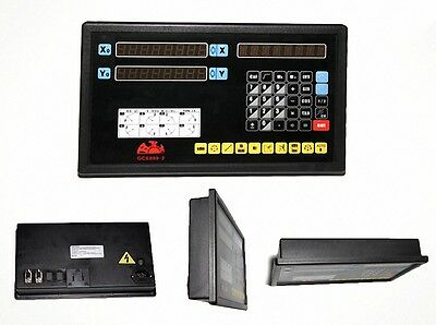 Linear Scale 2 Axis DRO Digital Readout For Lathe Milling Machine Kit [CAPT2011]