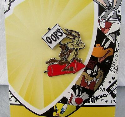 Looney Tunes Warner Brothers Wile E Coyote Enamel Pin Licensed NEW!