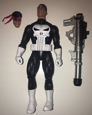 "Hasbro Marvel Legends 6"" PUNISHER Vintage Retro Wave Loose Netflix"