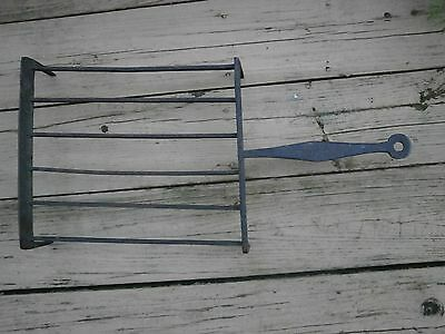 18Th Century Wrought Iron Fireplace Grill Or Pot Holder