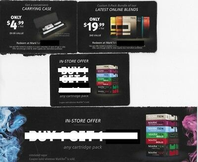 Markten cartridge coupons