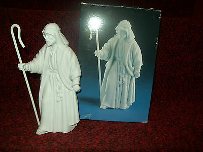 AVON Nativity Collectibles white porcelain Shepherd 1983