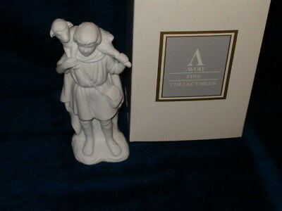 AVON Nativity Collectibles Shepherd with Lamb 1993