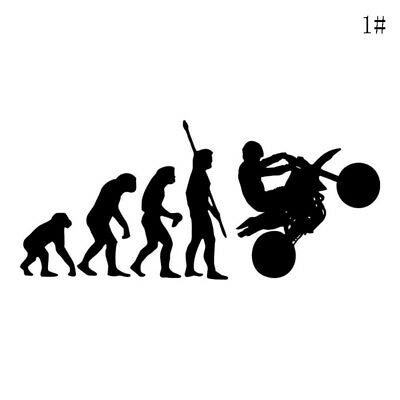 Human Evolution Motorcycle Car Sticker Vinyl Decalques Reflective Decals Gifts