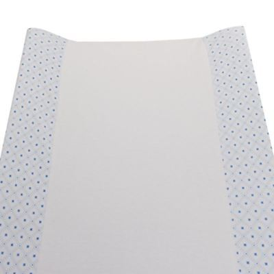 Living Textiles Change Mat Pad Cover -Jersey Blue Gio