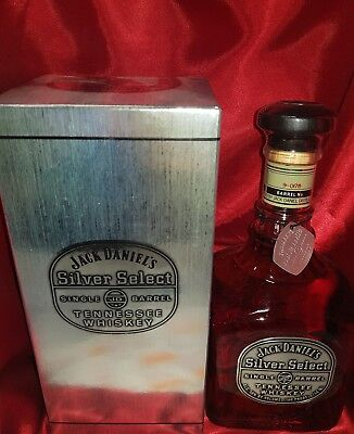 Jack Daniel's Silver Select Gen 1 New/Sealed RARE