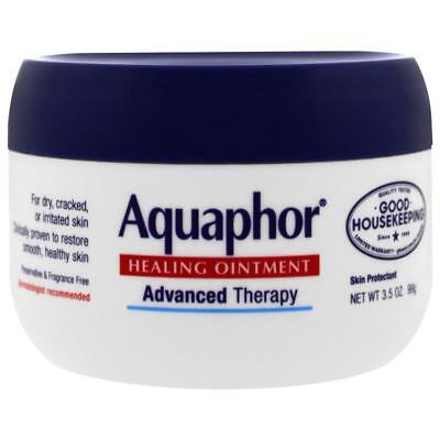 Aquaphor Healing Ointment Advanced Therapy Cracked Irritated Skin Unscented