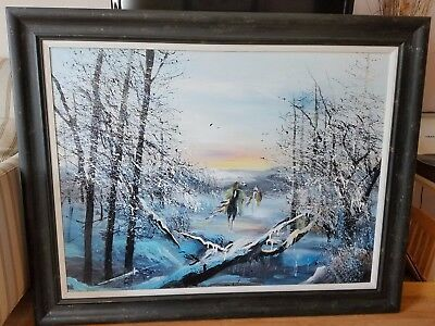 Original, by artist,  JoAnne Bird , Oil on Canvas Painting