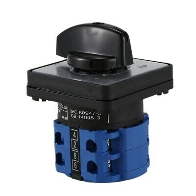 AC 440V 240V ON/OFF/ON Universal Change Over Rotary Cam Switch H2C1