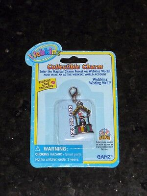 Webkinz Collectible Charm - Wishing Well - New with Unused Code