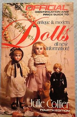 Official Identification Price Guide antique modern DOLLS book Julie Collier