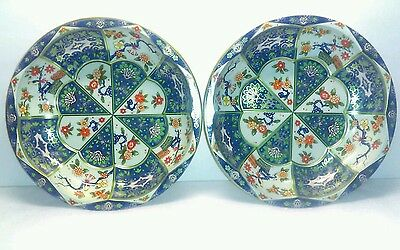Beautiful Daher Floral Decorated Ware Serving Bowls ENGLAND