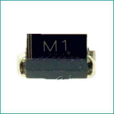 100PCS 1N4001 IN4001 M1 DO-214 (SMD) TOSHIBA Diode W
