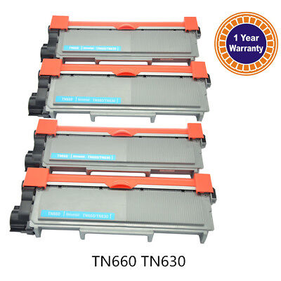 4PK Brother HL-L2340DW MFC-2720DW DCP-L2540DW Toner TN660 TN630 High Yield Ink