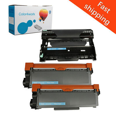 3PK For Brother HL-L2300D MFC-L2700DW Toner TN630 TN660 High Yield DR630 Drum