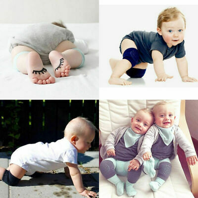 2X Safety Crawling Knee Elbow Pads Infant Toddler Baby Anti-Slip Leg Protectors