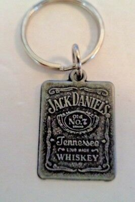 Jack Daniels Old No 7 Tenessee Sour Mash Whiskey Keychain One (1) Keychain